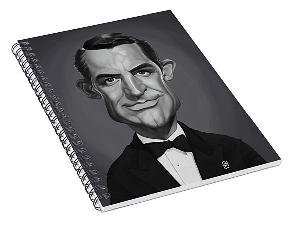 Celebrity Sunday - Cary Grant Spiral Notebook