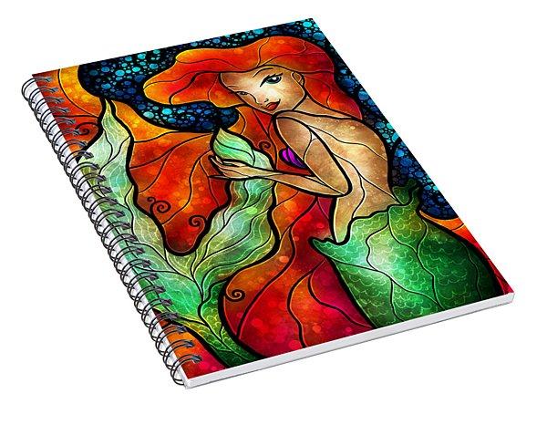 Princess Of The Seas Spiral Notebook