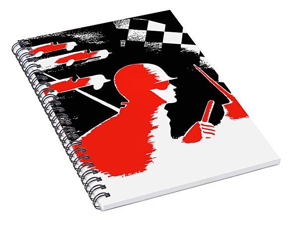 Watkins Glen Grand Prix 1951 Spiral Notebook