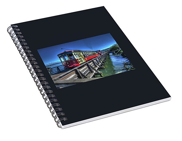 Astoria Riverfront Trolley Spiral Notebook