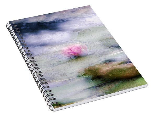 At Claude Monet's Water Garden 12 Spiral Notebook