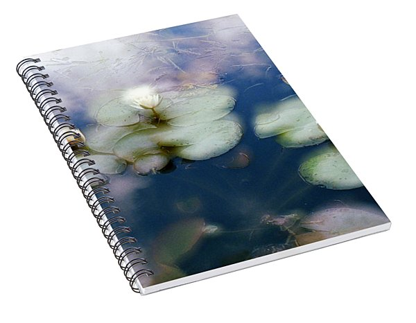 At Claude Monet's Water Garden 4 Spiral Notebook