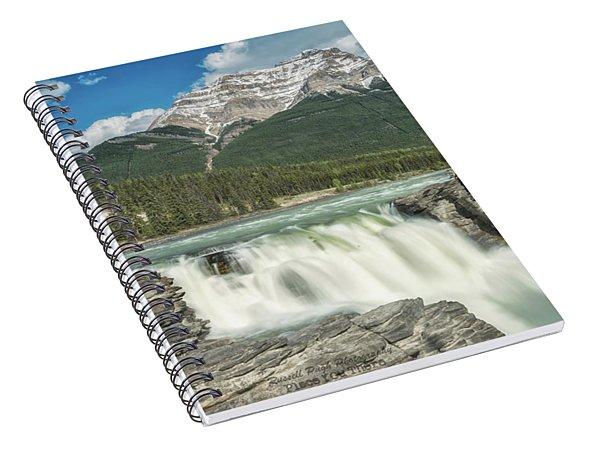 Athabasca Falls Spiral Notebook