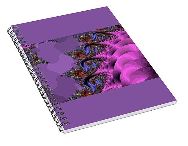 Attack Of The Magic Triapus Spiral Notebook