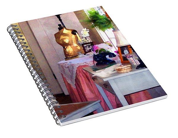 Attic Treasures Spiral Notebook