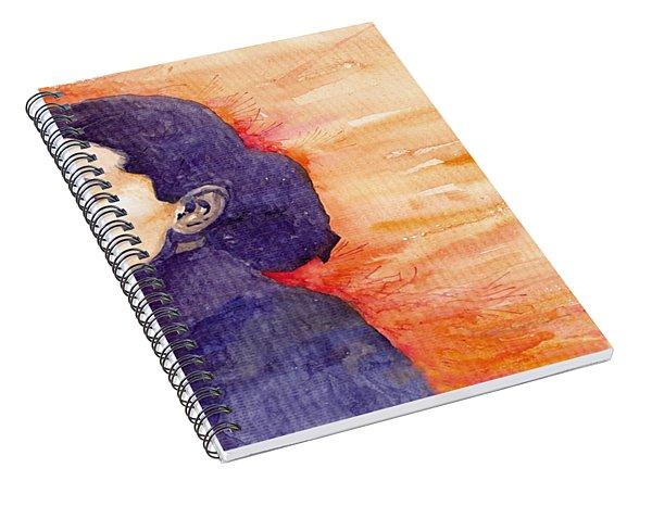 Audrey Hepburn 1 Spiral Notebook