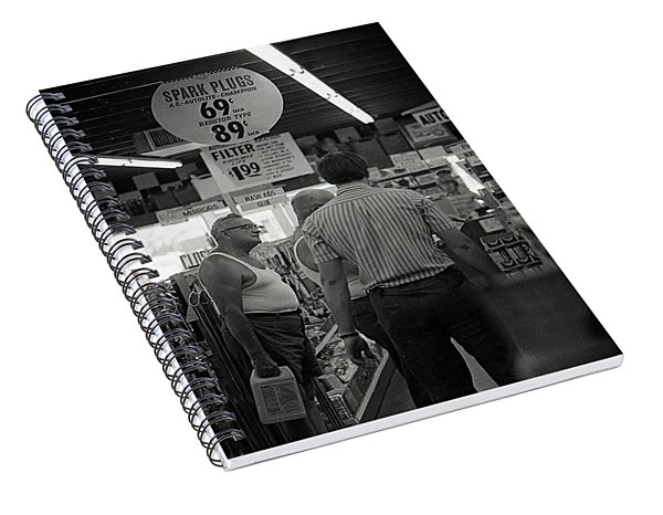 Auto-parts Store, 1972 Spiral Notebook
