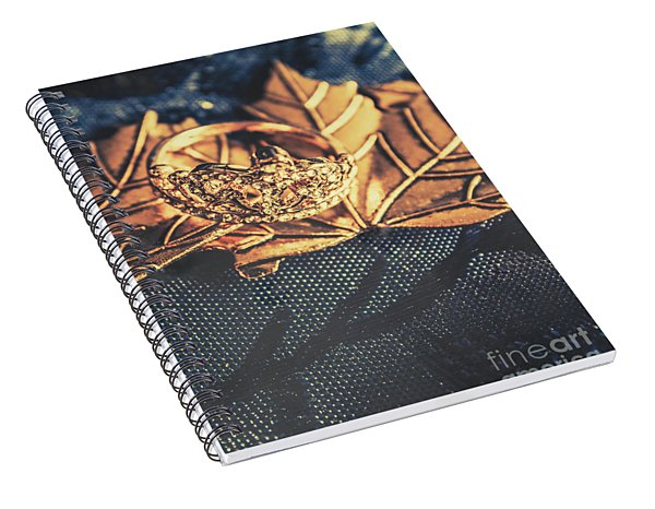 Autumn Fashion Diamonds Spiral Notebook
