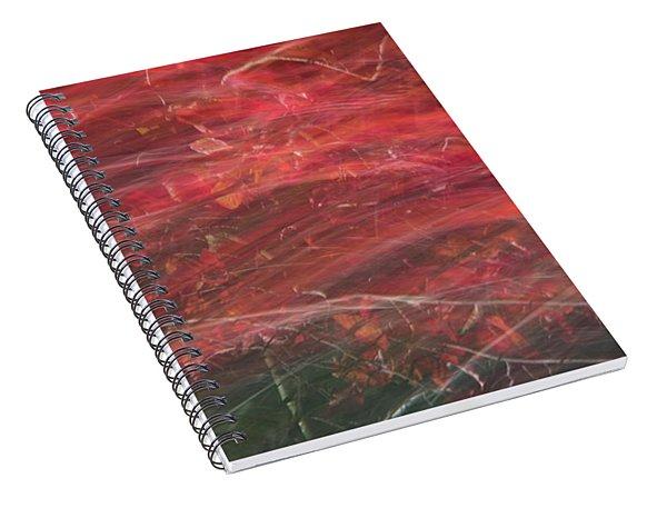 Autumn Graphics II Spiral Notebook