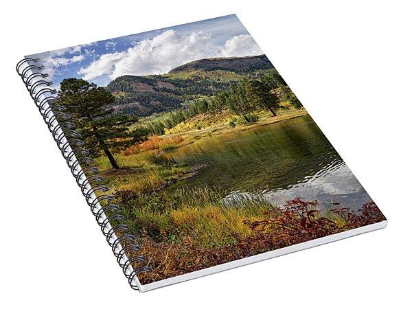 Autumn Illumined Spiral Notebook
