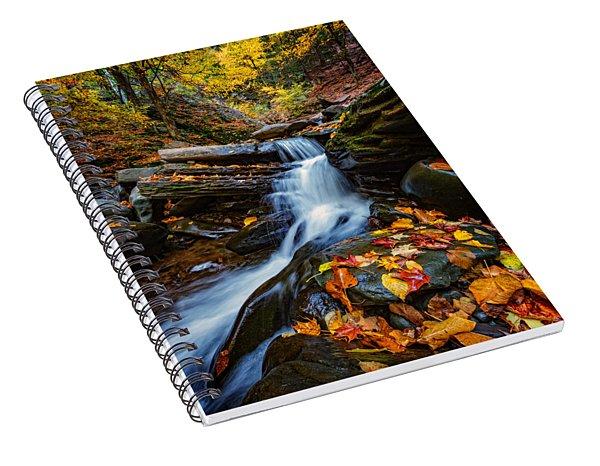 Autumn In The Catskills Spiral Notebook
