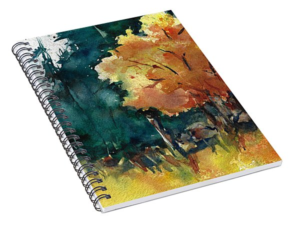 Autumn In The Ozarks Spiral Notebook