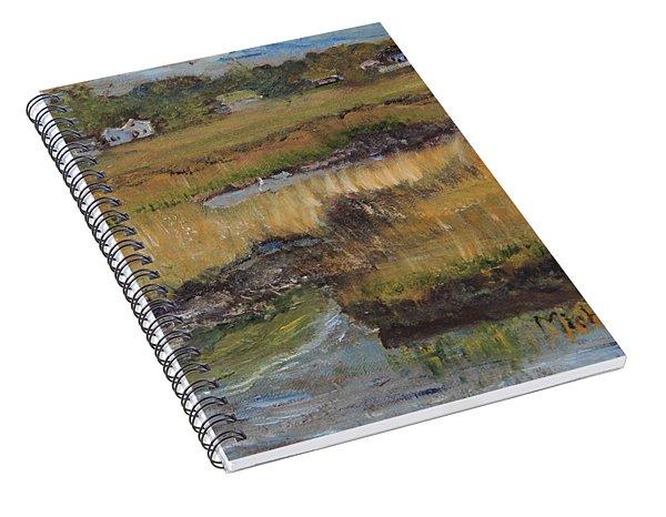 Autumn Marsh Spiral Notebook