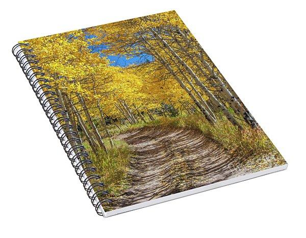 Autumn On Medano Pass Spiral Notebook