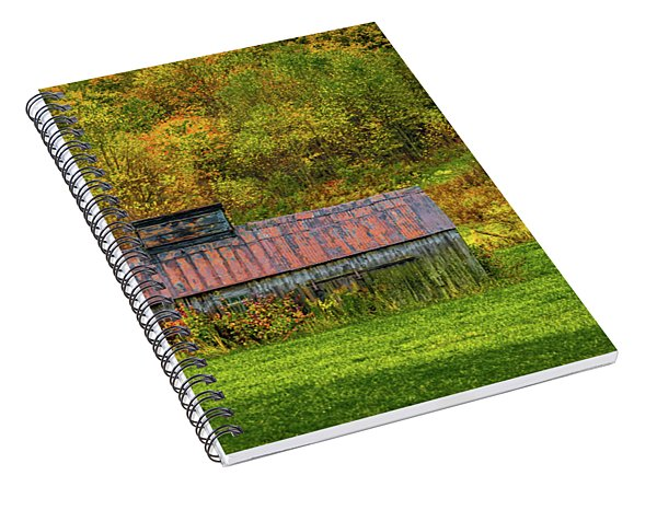 Autumn Rain 3 Spiral Notebook