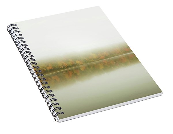 Autumn Symmetry Spiral Notebook