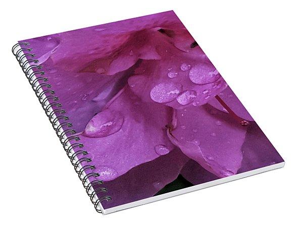 Azalea Rain Drops 2 Spiral Notebook