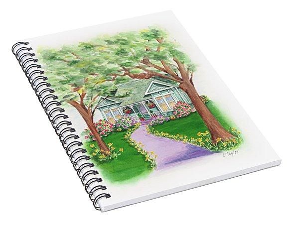 B Street  Spiral Notebook