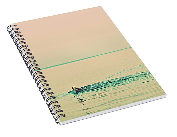 Backstroke Spiral Notebook