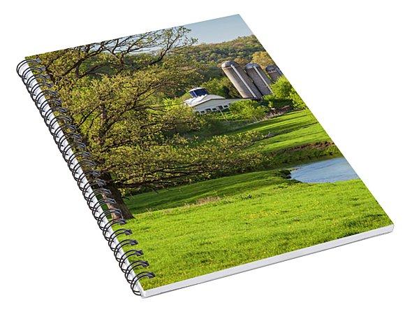 Bad Axe River Spiral Notebook