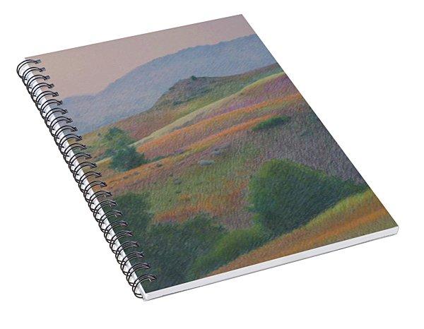 Badlands In July Spiral Notebook