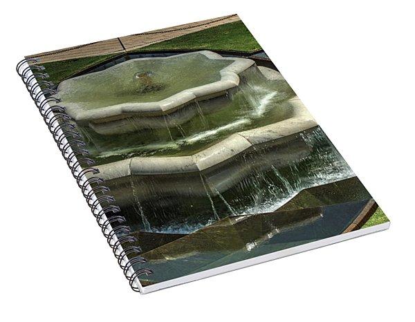 Bahai Fountain Spiral Notebook