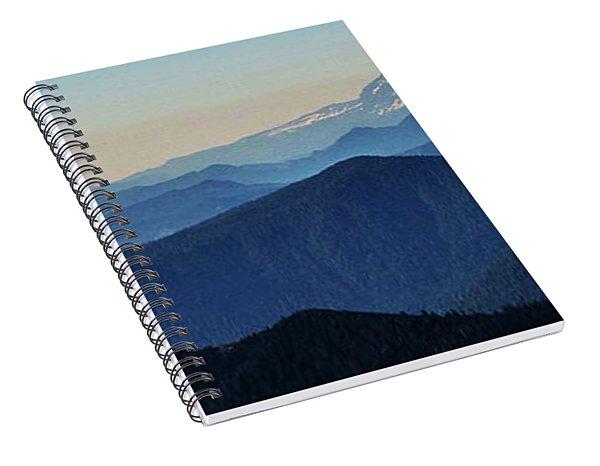 Baker From Pilchuck Spiral Notebook
