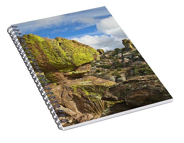 Balanced Rock Formation Spiral Notebook