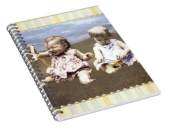 Banana Spiral Notebook