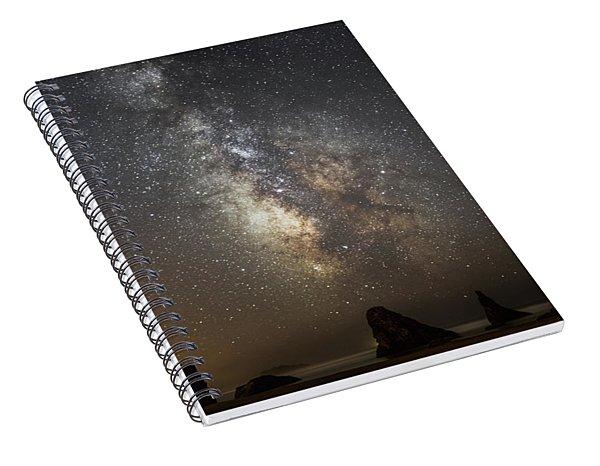 Bandon And Milky Way Spiral Notebook