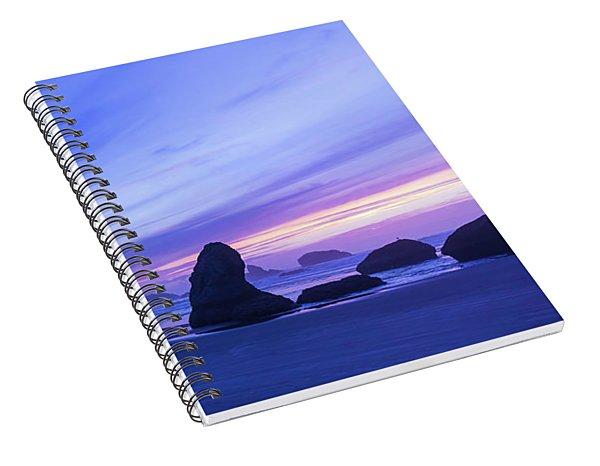 Bandon Blue Hour Spiral Notebook