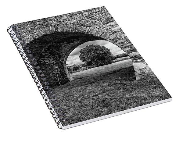 Barbican Gate Trim Castle Spiral Notebook