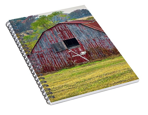 Barn On White Oak Road 2 Spiral Notebook