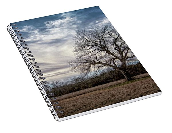 Baron Tree Of Winter Spiral Notebook