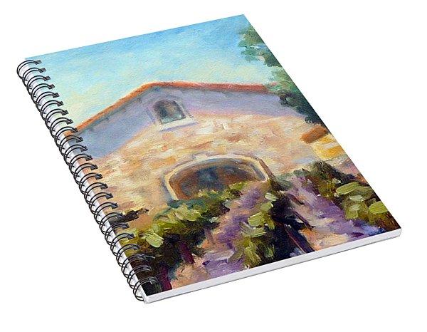 Barrel Room Spiral Notebook