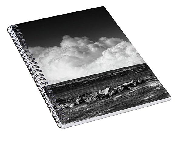 Barrens Clouds Spiral Notebook