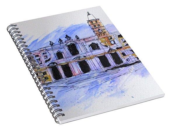 Basilica St Mary Major Spiral Notebook