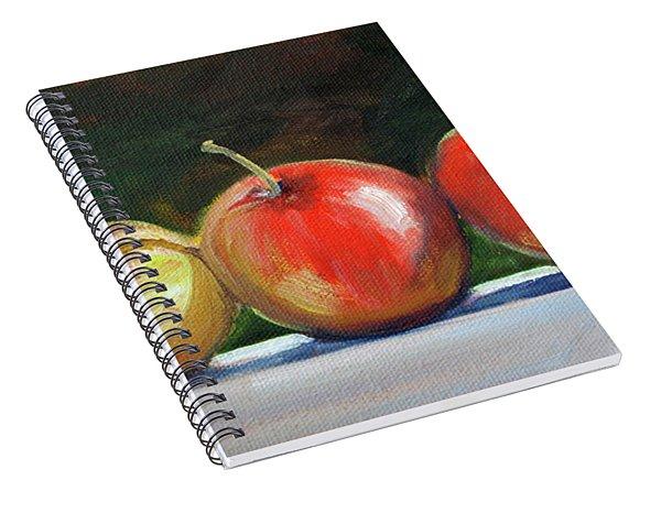 Basking Apples Spiral Notebook