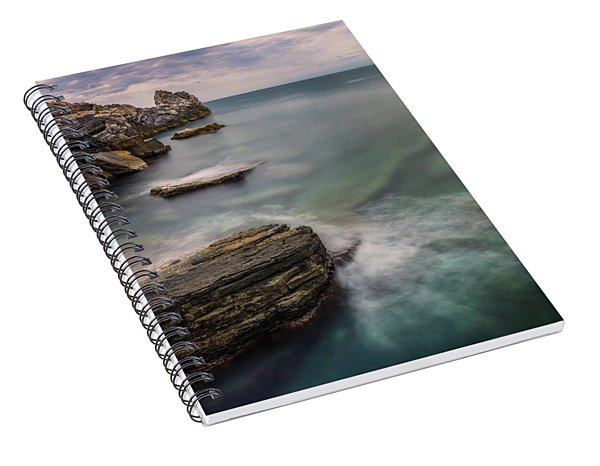 Bay Of The Gulf Of Poets Spiral Notebook