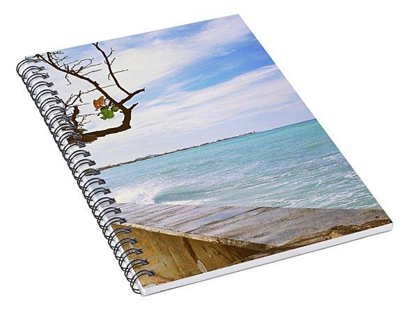 Beach Front View Spiral Notebook