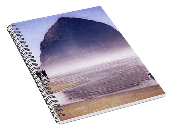 Beach Walk Spiral Notebook