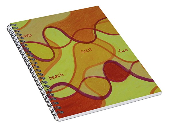 Beachday Two Spiral Notebook