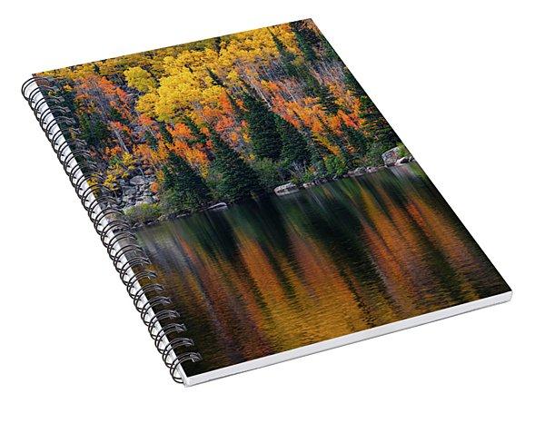 Bear Lake Autumn Spiral Notebook