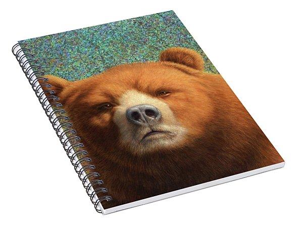 Bearish Spiral Notebook