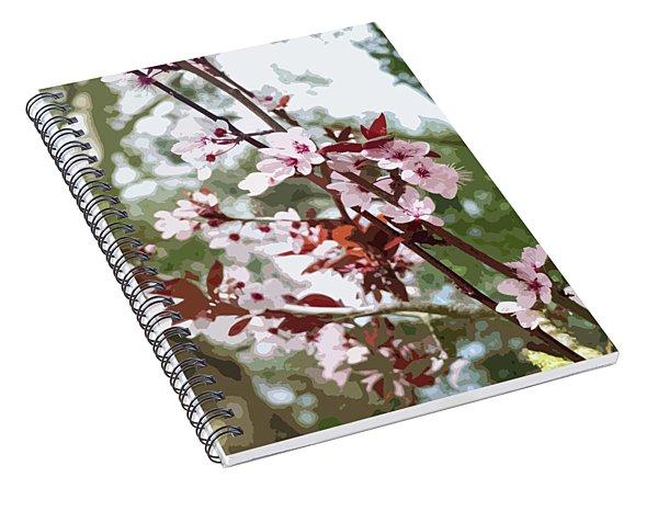 Beautiful Almond Blossoms Spiral Notebook