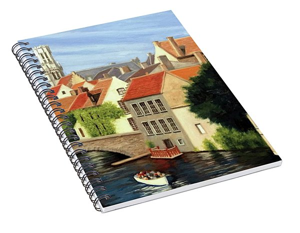 Beautiful Bruges Spiral Notebook