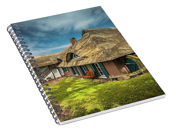 Beautiful Cottage Spiral Notebook