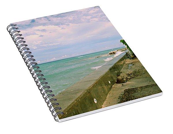 Beautiful Grand Turk Coastline Spiral Notebook