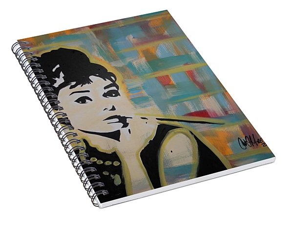 Beautiful Hepburn Spiral Notebook