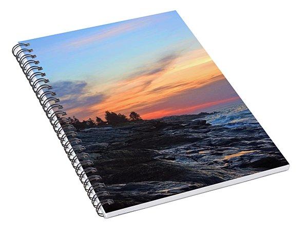 Beauty On The Rocks Spiral Notebook